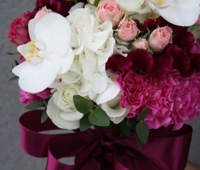 Magenta z dodatkiem słodkiego różu